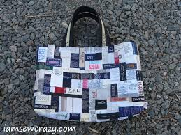 Diy Clothing Label Clothes Label Tote Bag Stitching Diy Decors