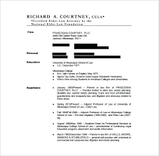 Attorney Resume Template Custom Lawyer Resume Template Free Word Excel Format Download Legal Cv