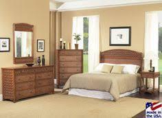 wicker bedroom furniture. Monte Carlo Rattan And Wicker Bedroom Set By Classic Furniture F