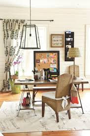 triple seated home office area. Casual, Pretty Home Office Space Triple Seated Area S