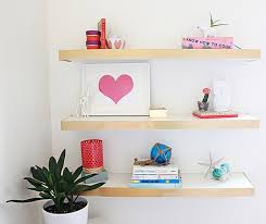 ikea floating shelves diy room decor ideas for crafters who are also ers