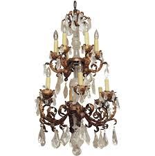 rock crystal chandelier drops home design ideas