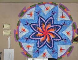 28 best Judy Niemeyer Quilts images on Pinterest   Star quilts ... & Paradise in Blooms by Beth Safick of CS Cottonpicker's Quilt Shop Adamdwight.com