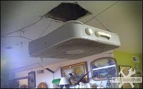 ceiling fan box. redneck ceiling fan box