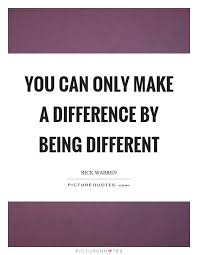 Quotes About Being Different