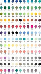 Chartpak Color Chart In 2019 Copic Color Chart Copic