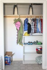 Building closet shelves Custom Closet One Bar For Hanging Clothes And One High Shelf Plus Small Bookcase Stuck In There To Add Bit More Storage Not Great Closet For Anyone Lovely Etc How To Build Cheap And Easy Diy Closet Shelves Lovely Etc