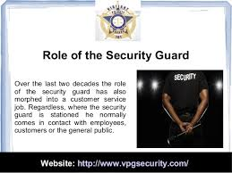 security officer duties and responsibilities duties and responsibilities of a security guard