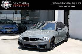 8 new & used bmw m3 for sale with prices starting at $25,894. 2017 Bmw M3 Competition Package Stock 6230 For Sale Near Redondo Beach Ca Ca Bmw Dealer