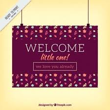Welcome Card Templates Customize Welcome Card Templates Online Welcome Card