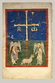 the art of the book in the middle ages essay heilbrunn   leaf from a beatus manuscript the lamb at the foot of the cross