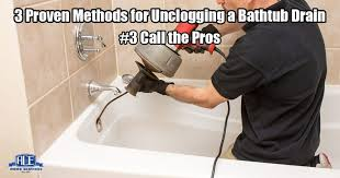 ace home services how do i unclog a bathtub drain professional plumber
