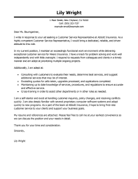 Sample Letter To Clients Leading Professional Customer Service Representative Cover Letter
