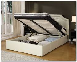 white wood king bed frame mattress full throughout for ideas 9