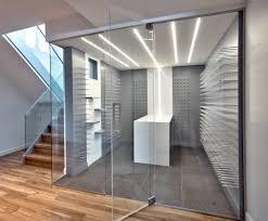 custom wine cellars for modern luxury homes stactcustom by cellart bellevue custom wine cellar