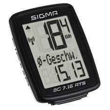 Sigma Bc 7 16 Ats Bike Computer Wireless