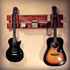 guitar hooks wall string swing wood guitar wall hanger best ideas on hooks pallet walls best