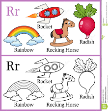 I created these mainly because. Coloring Book For Children Alphabet R Illustration 59962815 Megapixl