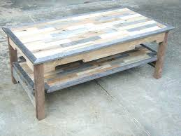 how to make a table out of pallets how to make coffee table out of pallets