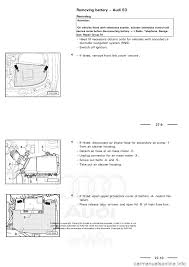 audi a3 1997 8l 1 g electrical system workshop manual
