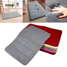 60x40cm bathroom memory foam bath mat absorbent carpet floor soft rug mats anti slip bathroom c fleece carpets high quality memory foam china bath mat