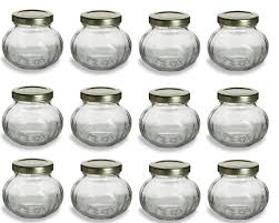 ball quilted crystal jelly jars 4 oz. nakpunar 4 oz, 12 pcs round glass jars for honey, spices, canning, baby foods, shower favors, wedding jam ball quilted crystal jelly oz
