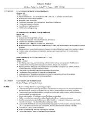 Bioinformatics Resume Sample Bioinformatics Programmer Resume Samples Velvet Jobs 36