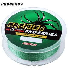 PRO BEROS PE 4 Strands Fishing Line Green 20LBS Fishing Lines ...