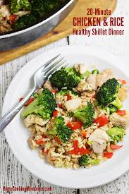 chicken and rice dinner recipes. Plain Recipes 20Minute Chicken And Rice Skillet Dinner Recipe To And Recipes C