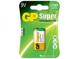 Батарейки для пульта управления <b>GP</b> Super Alkaline 1604A ...