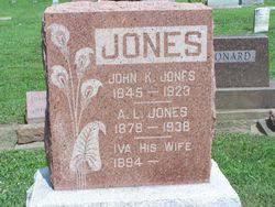 Iva Jones (1894-Unknown) - Find A Grave Memorial