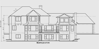 Country Luxury House Plan  Master On The Main  Bonus Car GarageHouse side elevation view for Country house plans  Luxury house plans  Master bedroom