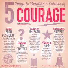 courage is a habit practice it daily until it becomes the norm courage is a habit practice it daily until it becomes the norm