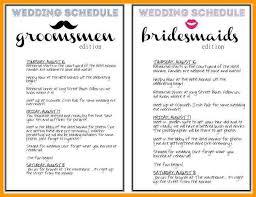 Printable Wedding Timeline Checklist Day Printable Wedding Timeline Checklist