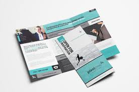 make tri fold brochures free business trifold brochure template in psd vector