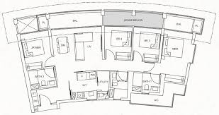 One Pearl Bank Floor Plan E1a Property Fishing
