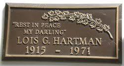 Lois Goldie Hartman (1915-1971) - Find A Grave Memorial