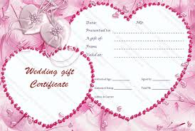 Gift Certificate Template Printable Cupid S Pink Gift Certificate Template