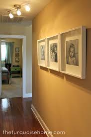 ikea ribba frames hallway update
