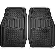 rubber floor mats car. Fine Floor Armor All 78830 2Piece Black Season TruckSUV Rubber Floor Mat With Mats Car