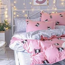 high quality french bulldog bedding set
