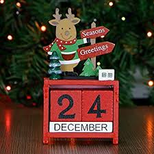 Cunguang Weihnachtsgeschenke Weihnachten Spielzeug Holz