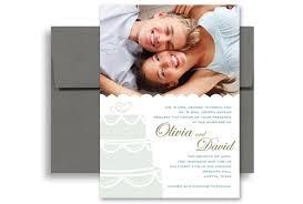 Wedding Invitation Templates With Photo Trendy Modern Design Wedding Invitation Templates 5x7 In