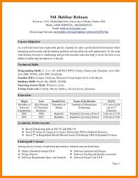 Resumes Extracurricularctivities Resume Template Sample For