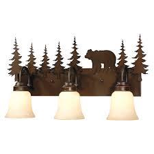 Rustic Vanity Lighting  Cabin Bathroom Lights - Bathroom vanity lighting