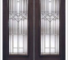 interior french doors with rain glass photo 3