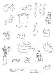 Disegni Oggetti Cucina Disegni Da Colorare Gli Oggetti Di Cucina