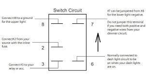 12 volt rocker switch light wiring diagram solidfonts carling dpdt rocker switch wiring diagram and hernes