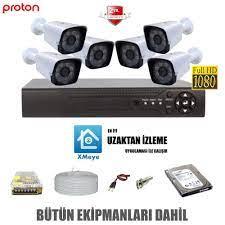 6 Lı Güvenlik Kamera Seti | Güvenlik Kamerası Modelleri