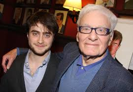 peter shaffer writer of equus and amadeus dies aged  daniel radcliffe and peter shaffer in 2009